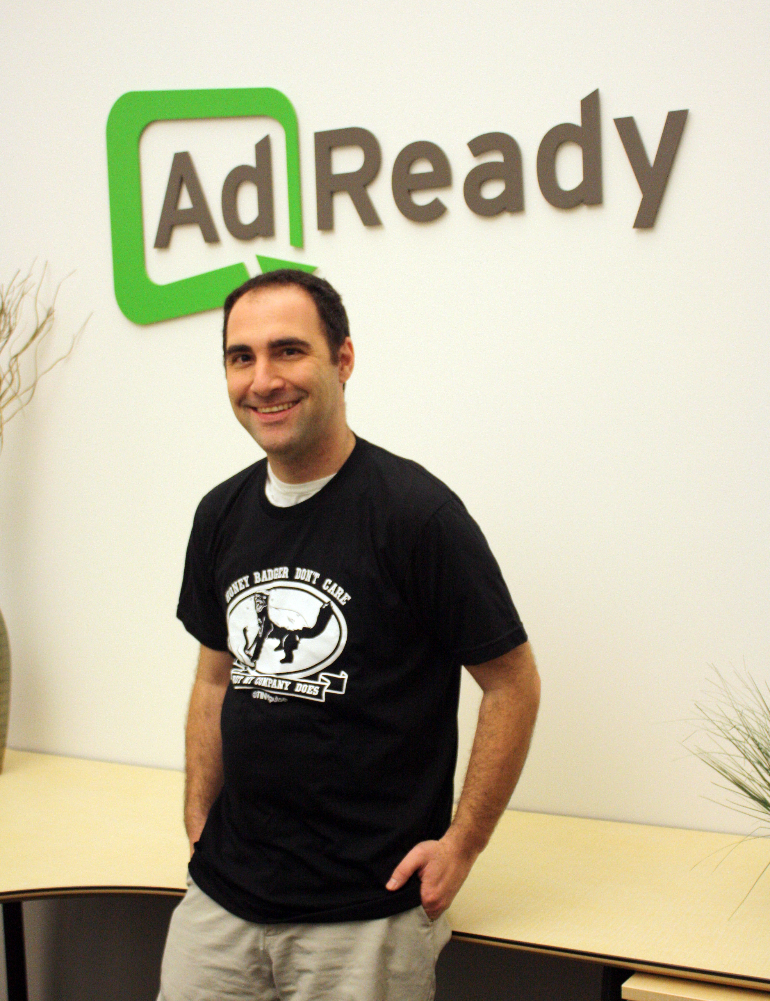 AdReady CEO Honey Badger TINYpulse shirt