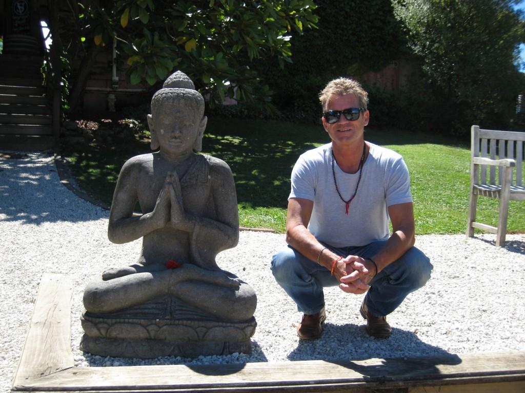 Steve White Teaching Yoga