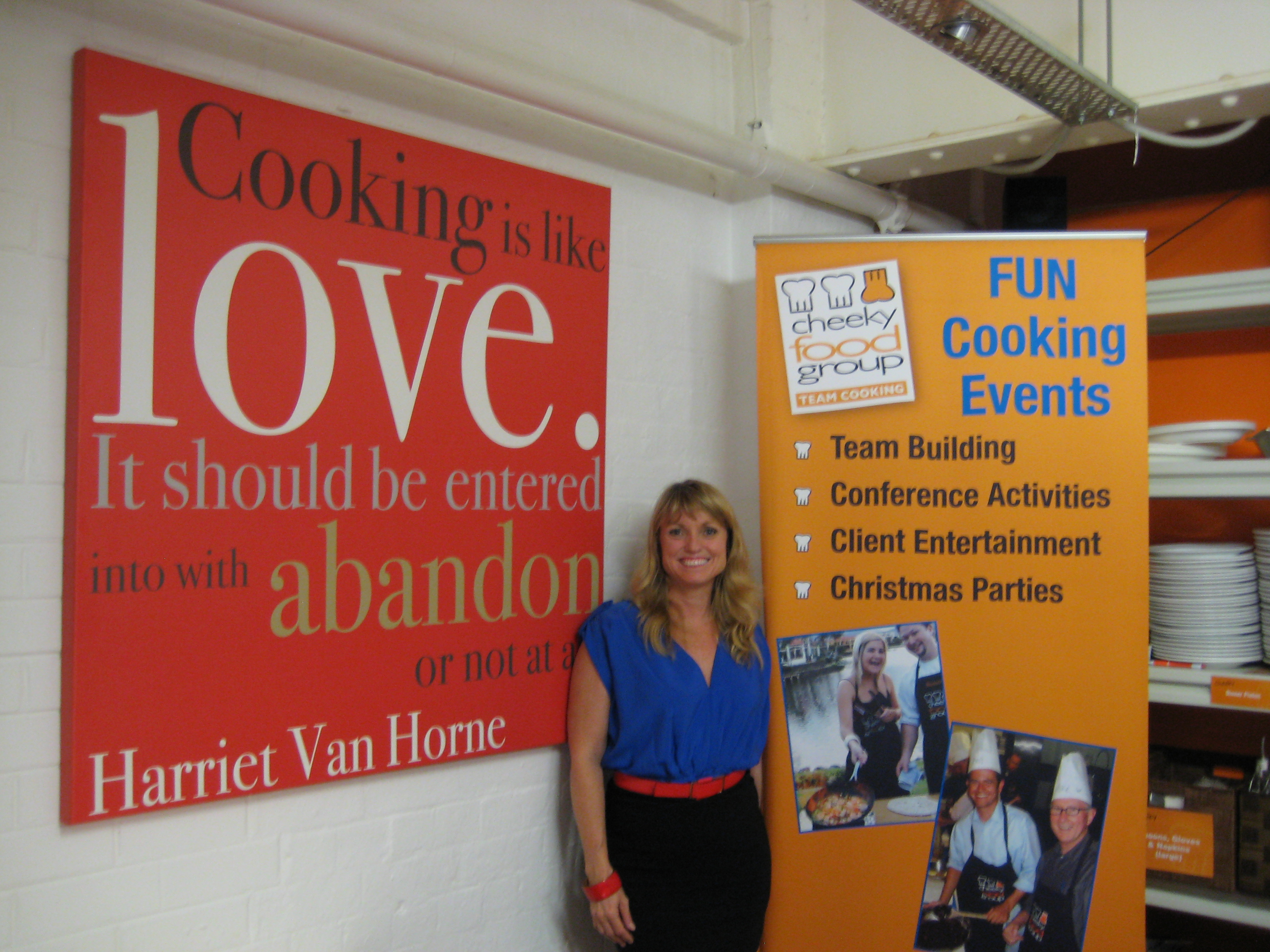 Leona Watson Cheeky Food Group