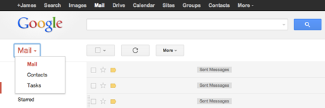 Gmail-Home-Dropdown