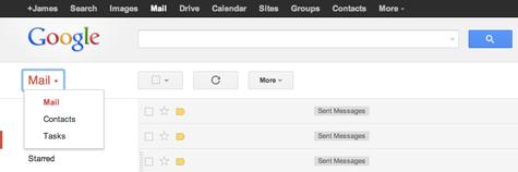 Gmail-Home-Dropdown