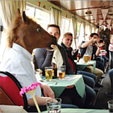 Horse-on-a-barge