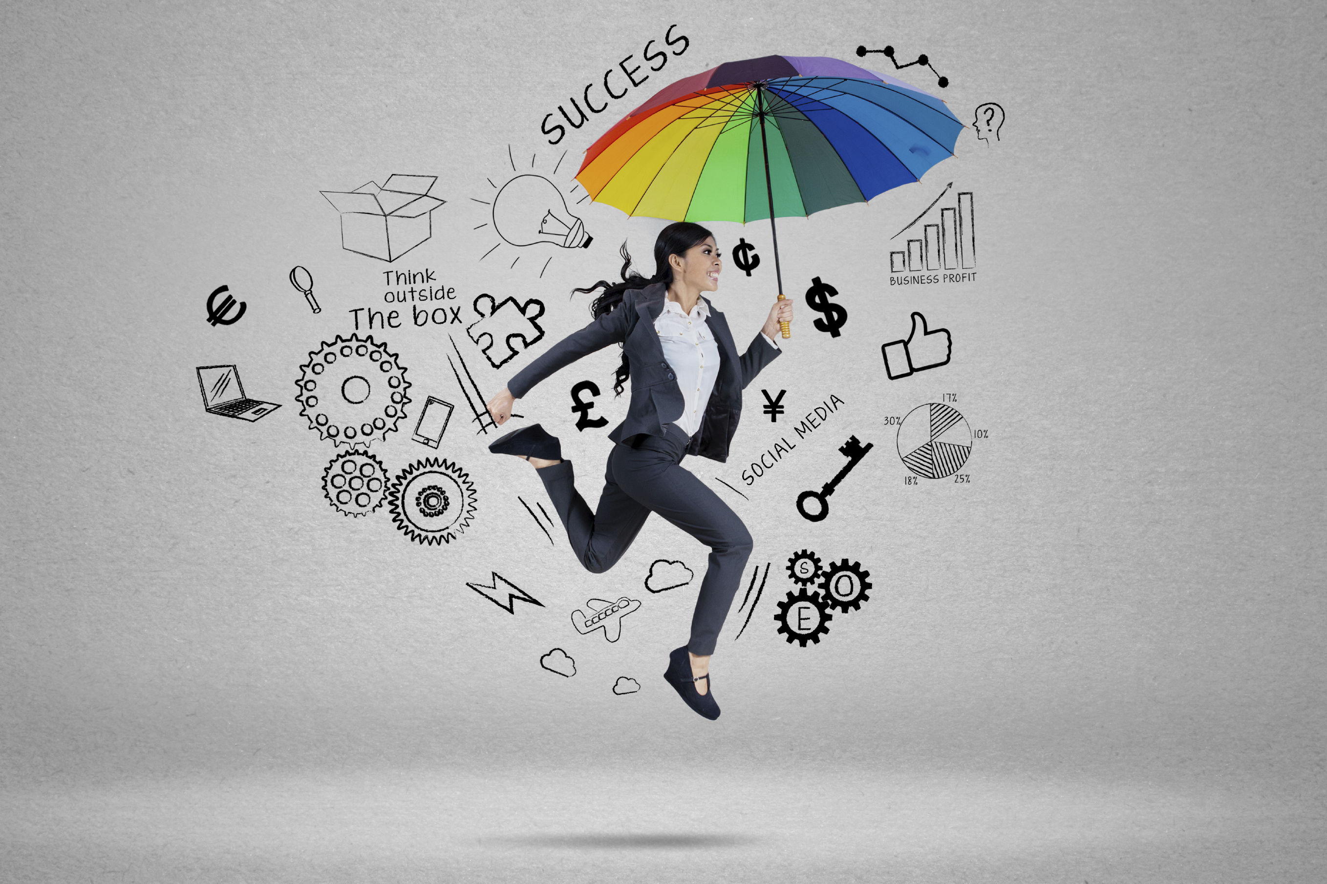 an employee happy about organizational culture