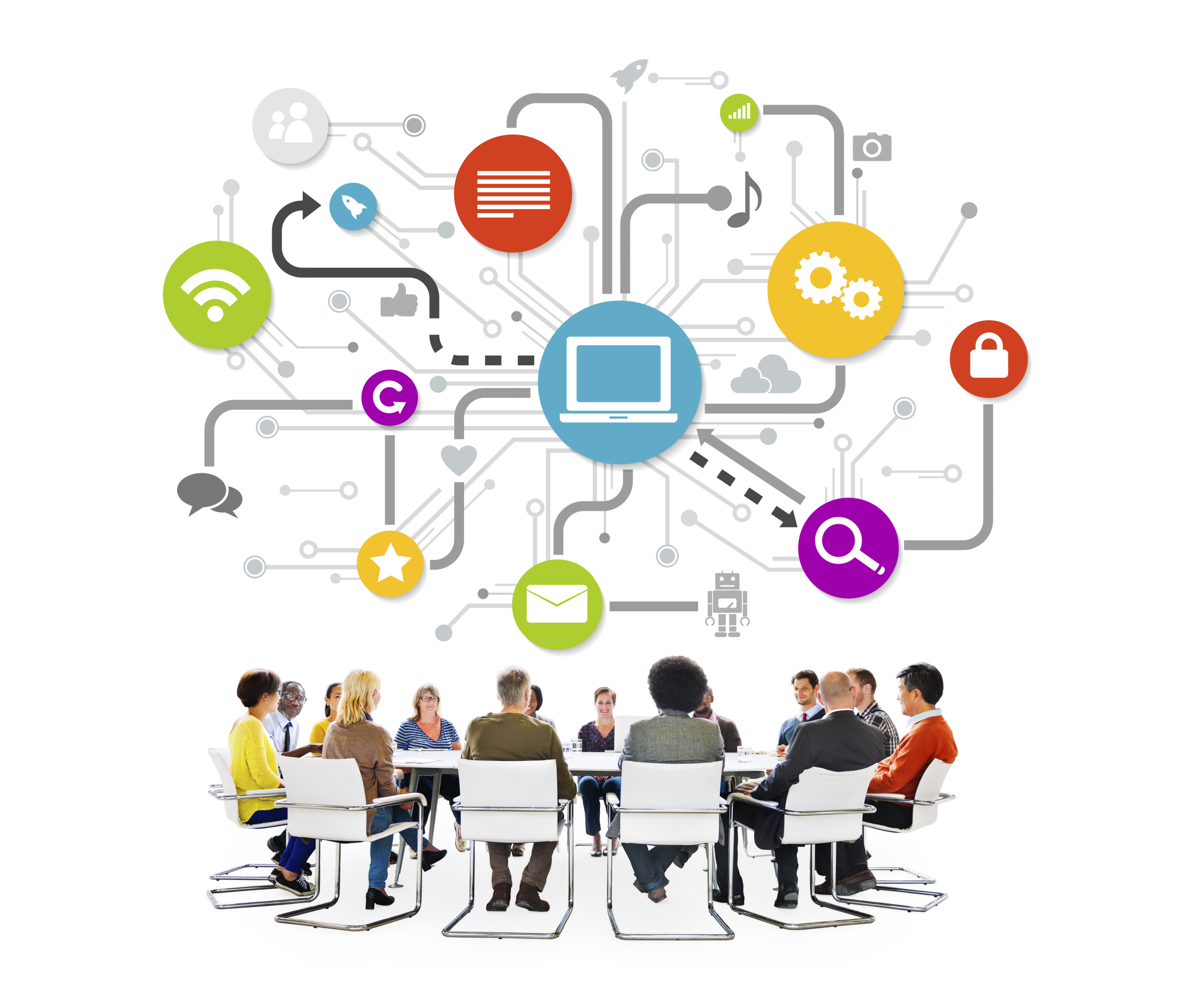 employees using social media to review organizational culture