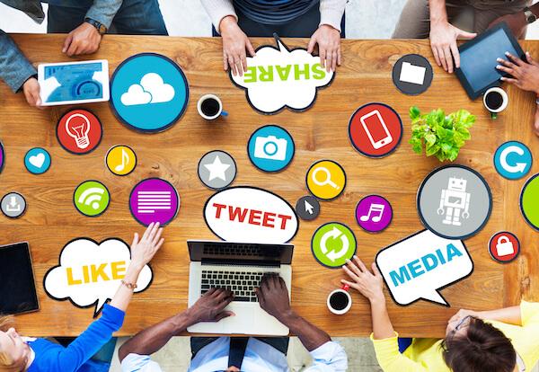 Gen Y using social media at work