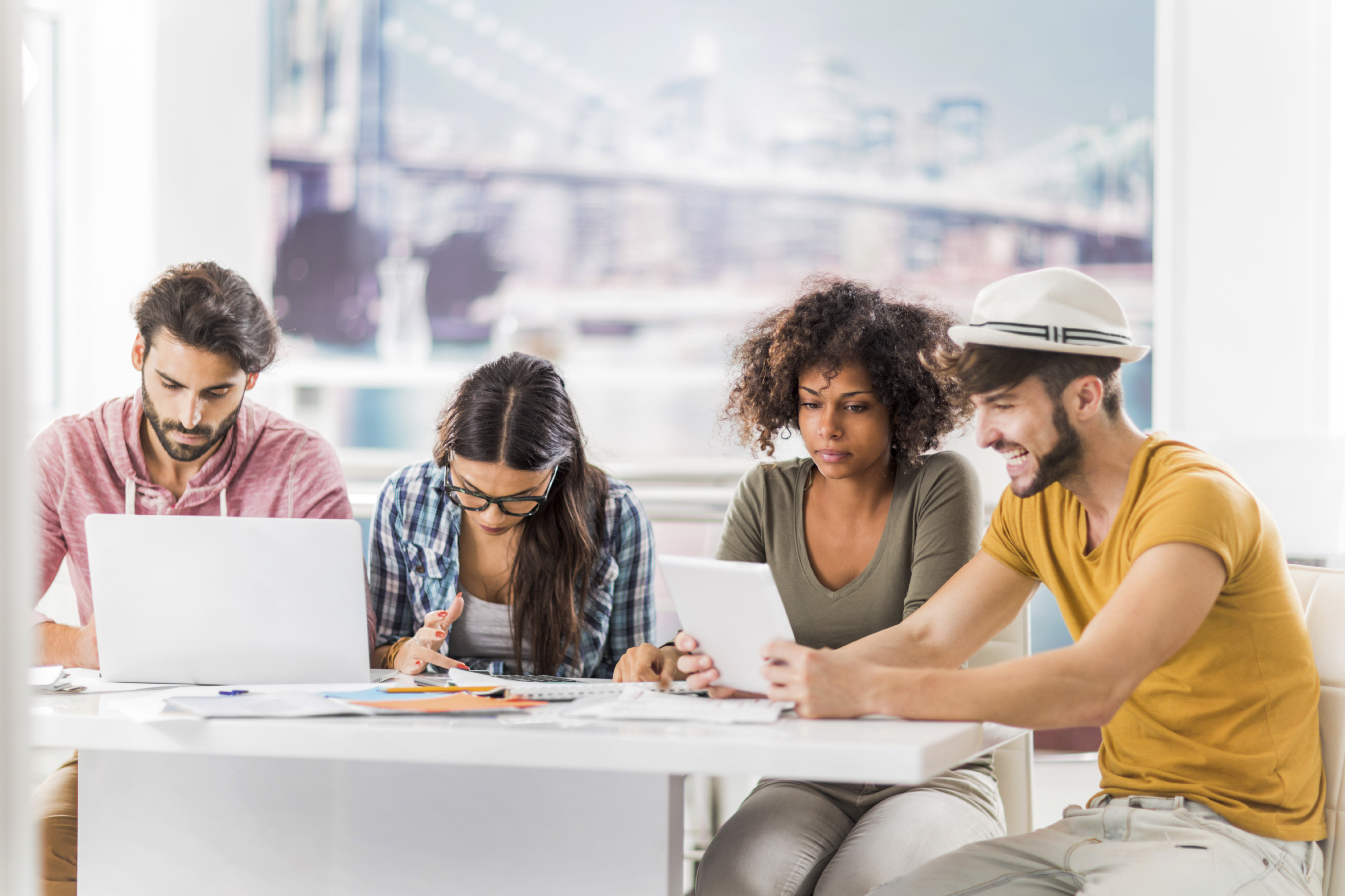 freelancers blending in with organizational culture