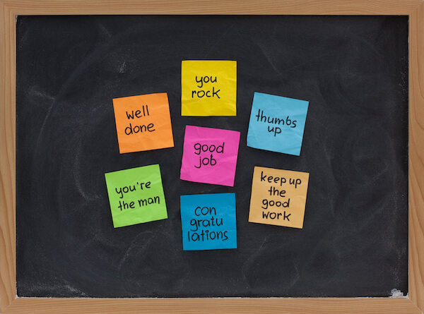 phrases for employee recognition