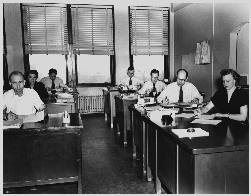 Office in the 1950s