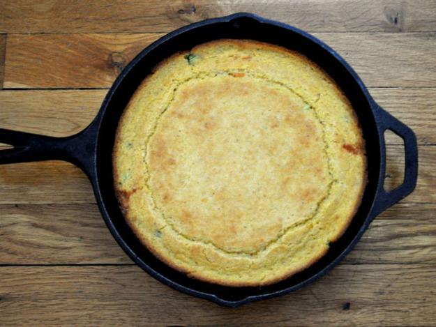 Jalapeno jack cornbread
