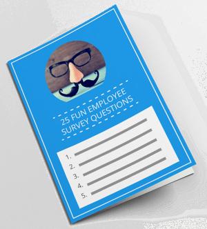 25 Fun Survey Questions Book Mockup