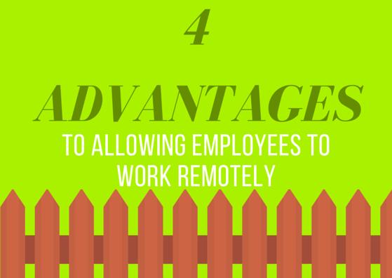 4 Advantages to Allowing Employees to Work Remotely by TINYpulse