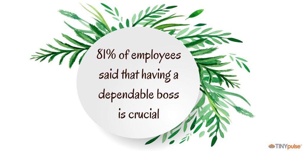 Dependable boss