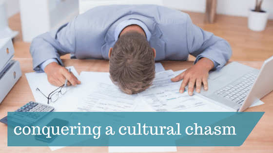 cultural chasm