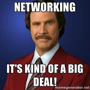 networking is kind of a big deal