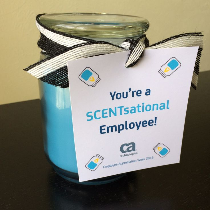 youre a scentsational employee gift