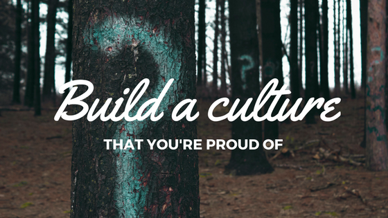 Building an organizational culture