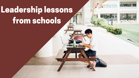 Leadership lessons from schools