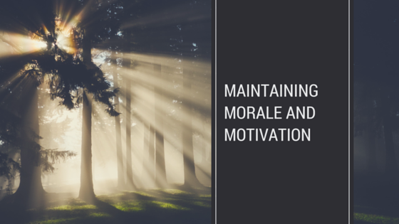 Maintaining morale after layoffs