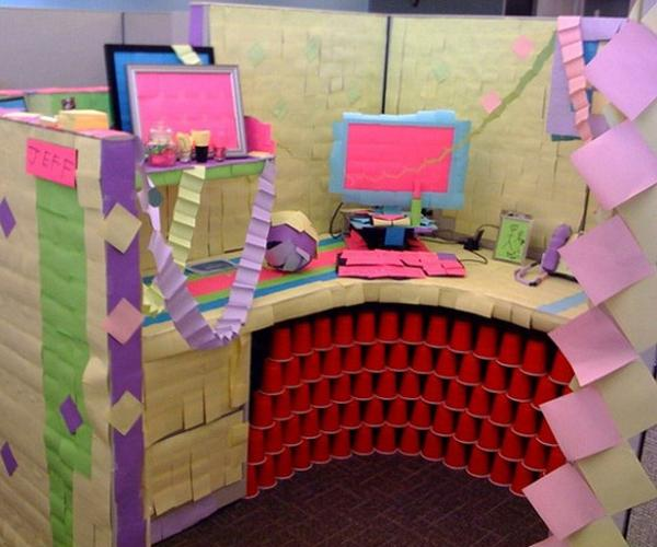 10 Epic Workplace Pranks for April Fools' Day by TINYpulse