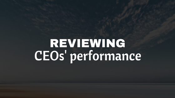 CEO performance review