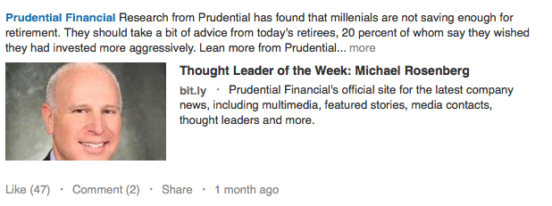 Prudential Financial - by TINYpulse