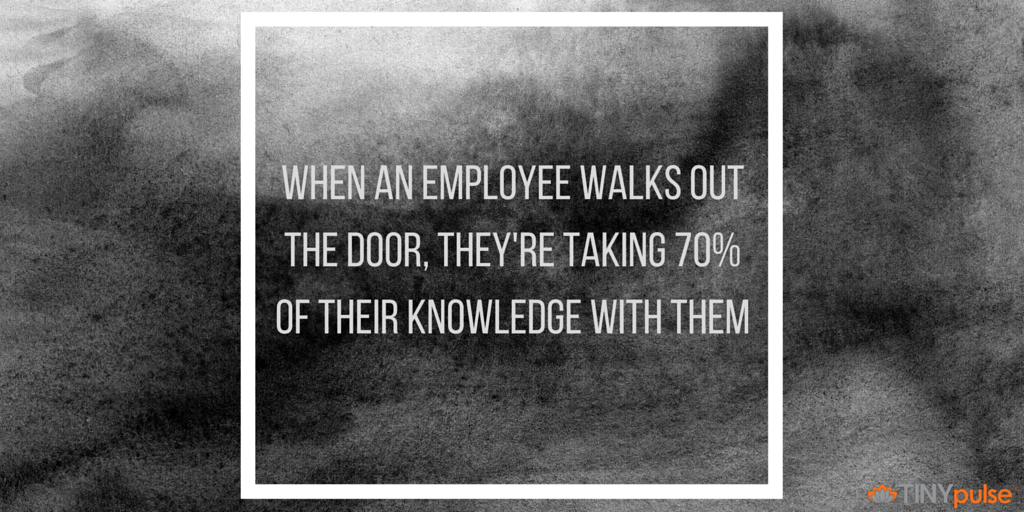 quitting employee