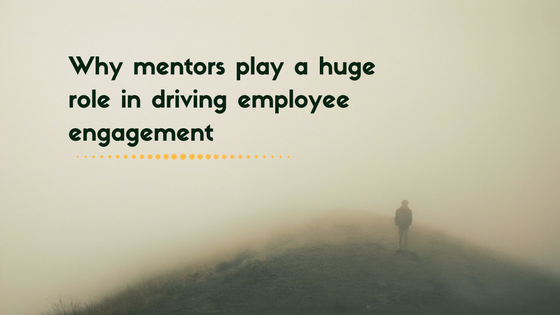 Mentors driving employee engagement