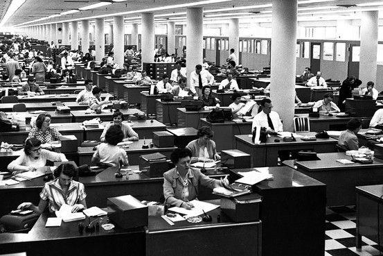 open-office layout