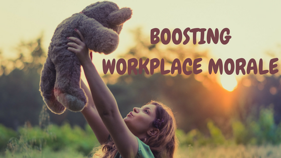 boosting workplace morale