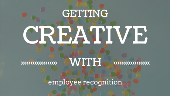 creative employee recognition