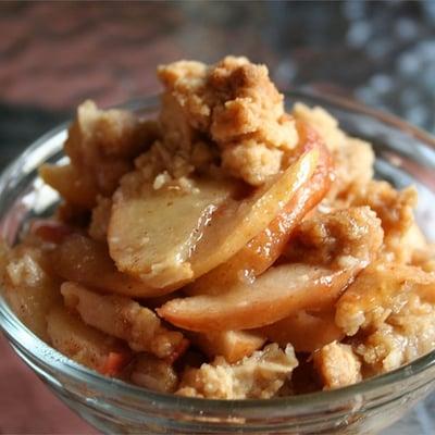 apple crisp for thanksgiving potluck