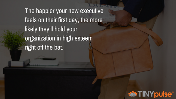 onboarding executives