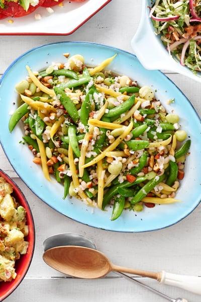 Five-bean summer salad