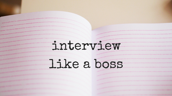 interview like a boss