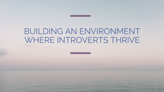 Work environment for introverts