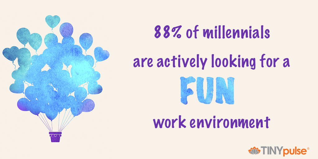 Millennials in the workplace by TINYpulse