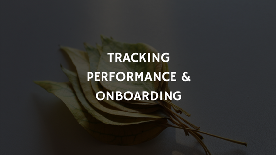 performance management & employee onboarding