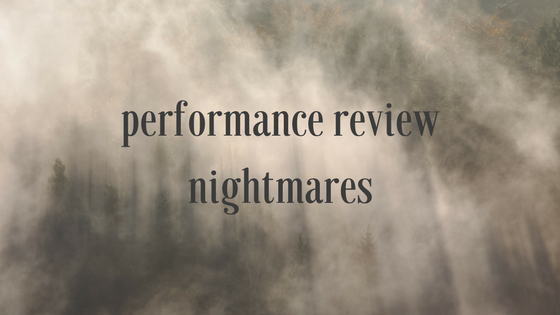 performance review nightmares