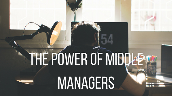 Power of middle managers
