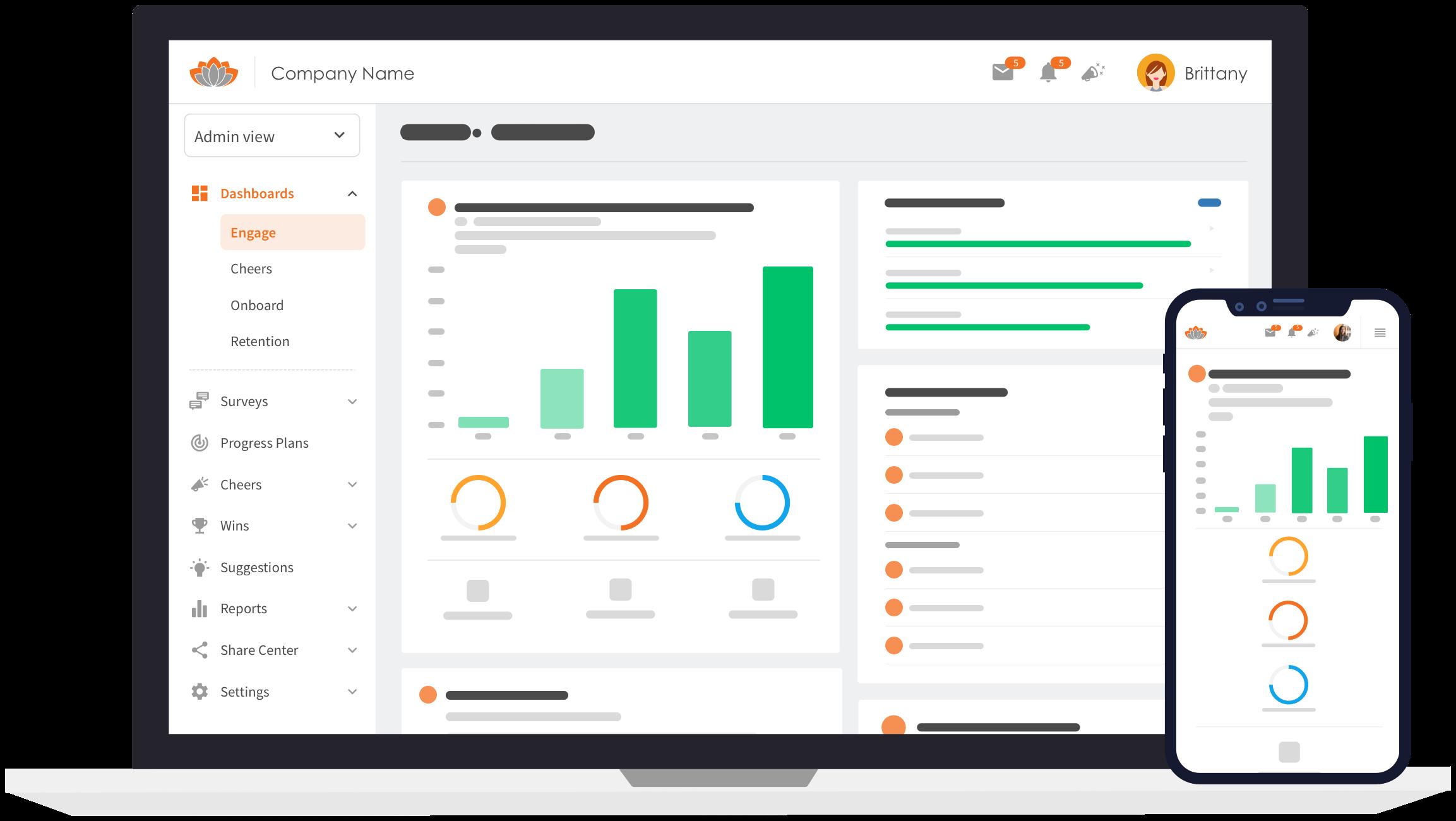 product image - Engage dashboard_Desktop & Mobile