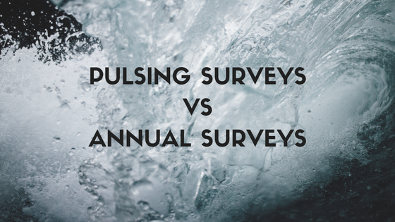Pulsing surveys