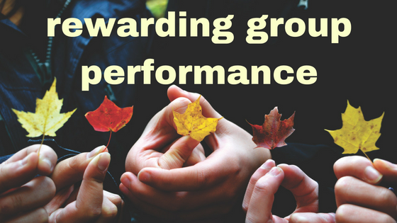 rewarding group performance