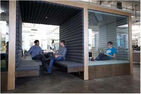 Square office design