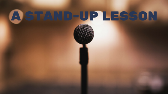 stand-up lesson