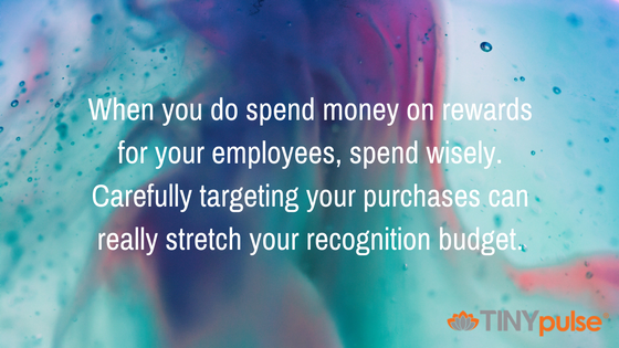 Making Employees Feel Appreciated While on a Tight Budget