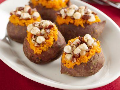 stuffed sweet potatoes for thanksgiving potluck