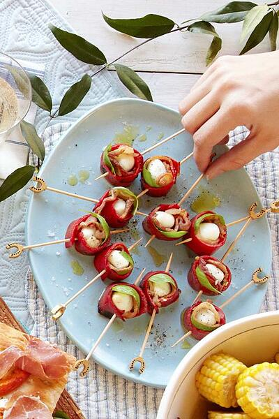 Tomato skewers