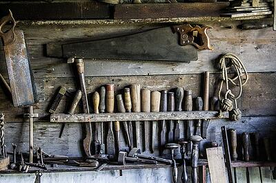 invent ways to improve by investing in tools