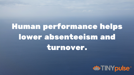 Reducing turnover