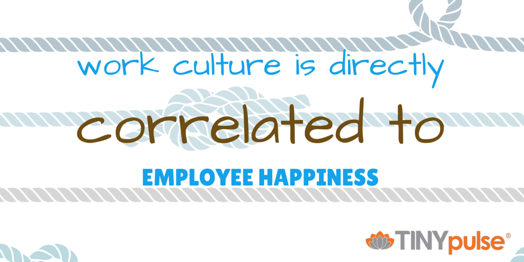 Employee Engagement Report by TINYpulse